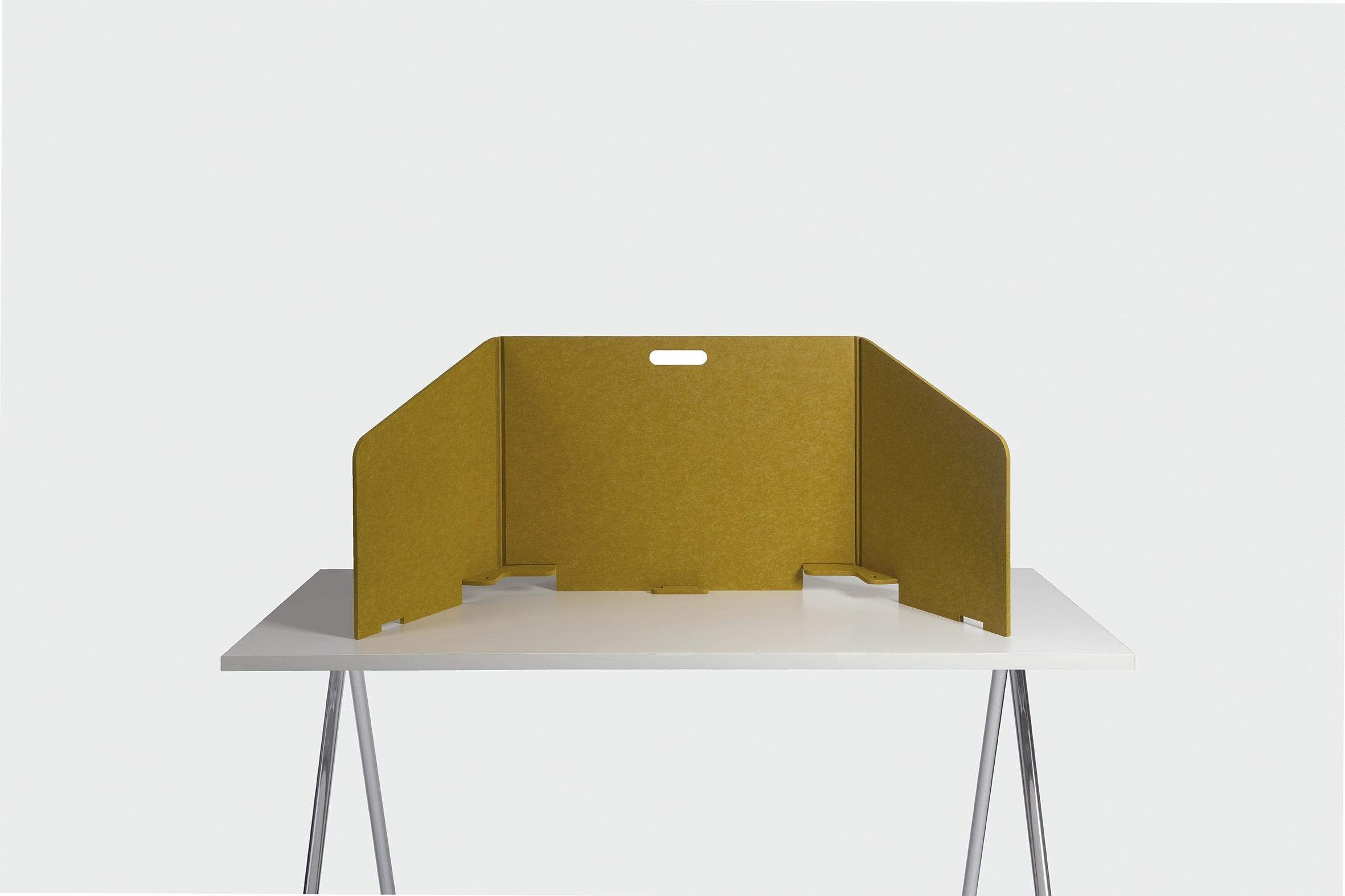 Thuiswerkplek Bureauscherm Fold