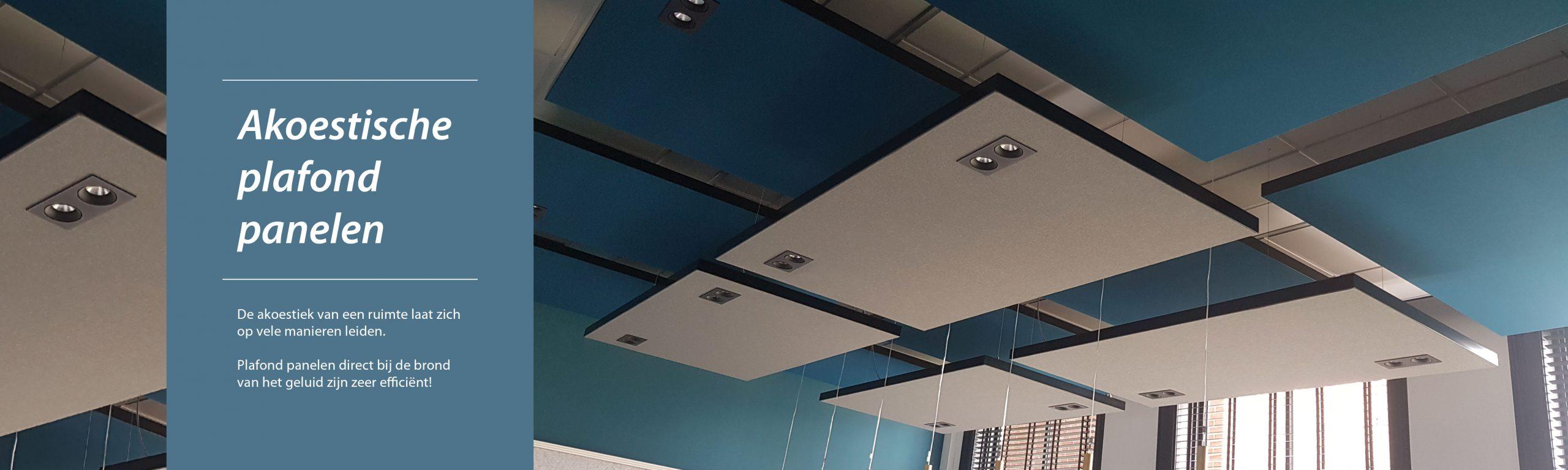 Akoestiek verbeteren plafondpanelen